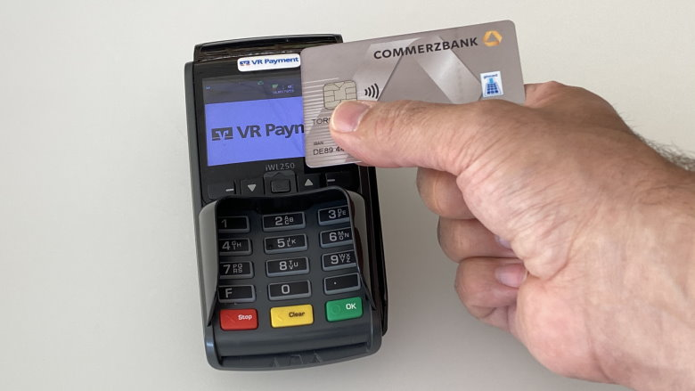 Zahlung per EC-Karte